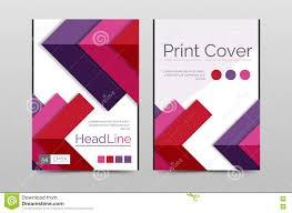 Geometric Brochure Front Page Stock Vector Illustration Of Base