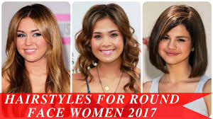 Hair Style For Chubby Face hairstyles for round face women 2017 youtube 1839 by wearticles.com