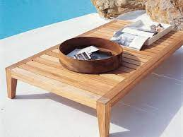 synthesis teak rectangular coffee table