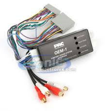 pac aoem hon17 aoemhon17 interface module that allows the product pac amplifier integration interface for honda aoem hon17