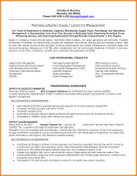 supply chain management resumessupply chain management resume for a job  resume of your resume 6png