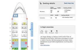 Aer Lingus Seating Chart 757 Www Bedowntowndaytona Com