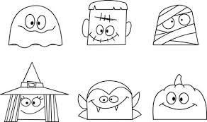 I Disegni Di Halloween Spaventosi Da Stampare Per I Bambini Tutto