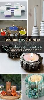 Diy Candle Holders Beautiful Diy Candle Holders Great Ideas Tutorials For Special