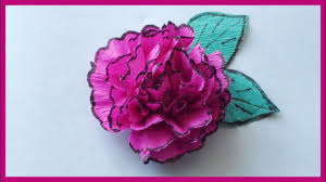 Paper Flower Video Crepe Paper Flowers Video Tutorial How To Make Paper Flowers Easy Paper Crafts