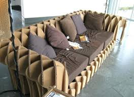 cardboard tube furniture. Make Cardboard Furniture Making Tips A Creative Sofa Made Of Tube N