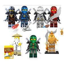 Spielzeug COLE NYA und KAI limited 3 x Lego NINJAGO Minifigur  triadecont.com.br