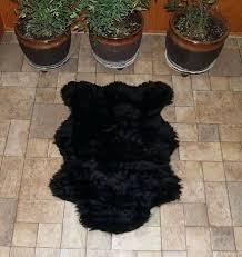 bear rug faux fake bear skin rug with head