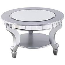 permalink to awesome 20 round mirrored coffee table qs5ib