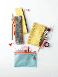 crochet zipper pouch pattern