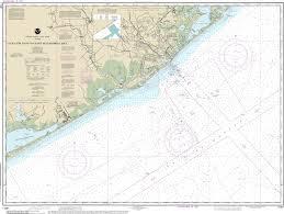 Noaa Chart San Luis Pass To East Matagorda Bay 11321
