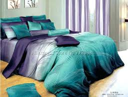 teal duvet cover king blue green