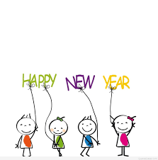 cartoon happy new year wishes
