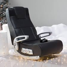 x rocker vibe game chair with 2 1 audio chair bluetooth and arms black red 5172801 hayneedle