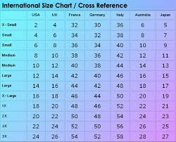 40 True Pants Size Comparison Chart
