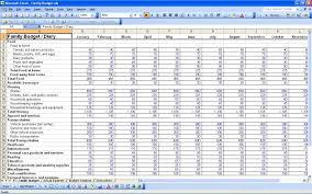 019 Template Ideas Personal Budget Excel Sensational