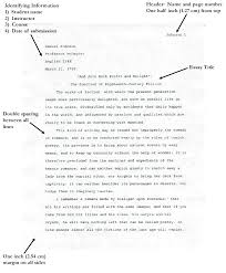 Mla Citation Format Example Mla Citation Format For Essays In A Book Referencing Guide Business