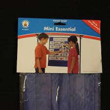 Carson Dellosa Classroom Mini Essential Pocket Chart