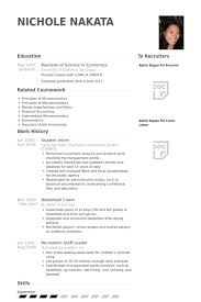 Student Resume Sample Cool Student Intern Resume Samples VisualCV Resume Samples Database