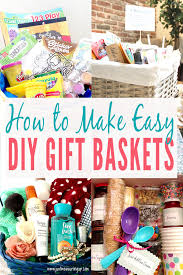 learn how to make easy diy gift baskets with themes perfect thrifty gift ideas