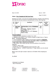 price quotation format doc quotation letter sample doc fillable printable templates to