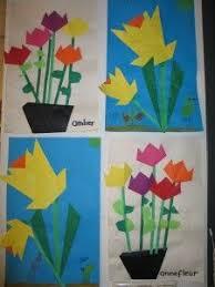 Paper Flower Crafts For Kindergarten 16 Best Paper Flower Craft Images Flower Crafts Preschool Kid Crafts