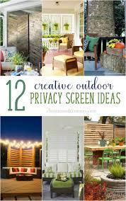 12 creative outdoor privacy screen ideas