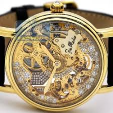 rodeo 18k yellow gold diamond mechanical mens watch joe rodeo 18k yellow gold diamond mechanical mens watch