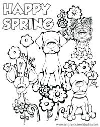 Welcome Spring Coloring Pages Zupa Miljevcicom