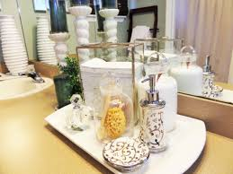 Giving Your Bathroom A Spa Like Look Be My Guest With Denise - Candles for bathroom