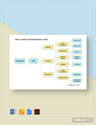5 Free Church Organizational Charts Word Template Net