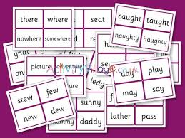 A collection of english esl worksheets for home learning, online practice, distance learning and english classes to teach about phonics, phonics. Phase Five Word Cards Alternative Spellings By Phoneme