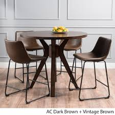 evadne counter height 5 piece dining set by christopher knight home today overstock 16001589