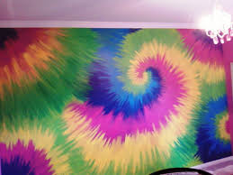 How to Paint a Wall to Look Tie-Dyed | Star patterns, Fabric dye and  Creative crafts