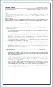 Objective Statement For Nurse Resume Nursing Resume Objective Resume ...