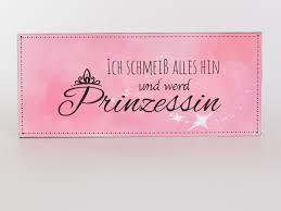 Deko Metallschild Mit Spruch 30x13cm Prinzessin Blechschild Vintage