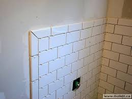 best of subway tile corner trim chapter installing the ceramic tub surround outside cerami tile corner glass pencil trim
