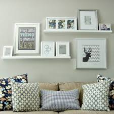 2 ledge shelf ikea ribba picture photo