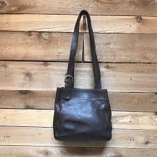 larger image · Vintage Coach Waverly Soho Tote Vtg Dark Brown Leather  Designer Handbag Made in USA 4157 MIKYTFWXRF
