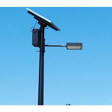 LED Solar Pole Light At Rs 14000 Set  Solar Led Street Light Solar Pole Lighting