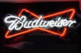 Budweiser Bud Light Busch Beer Bar Corona Ford Tv Vintage