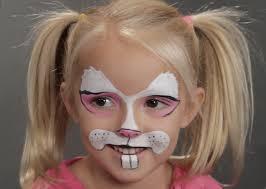 bunny face paint supplies