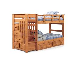 bunk bed with stairs. Decorating Stunning Bunk Bed Stairs With Drawers 17 Natural Brown Wooden Under The Also Beside Completed