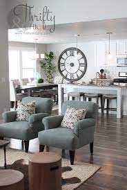 model home decorating home living room
