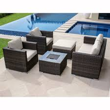 Ice Bucket Table Maze Rattan 5 Seater Sofa Set With Ice Bucket Table Next Day