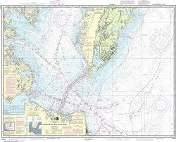 Mobjack Bay Chart Noaa Nautical Chart 12221 Chesapeake Bay Entrance