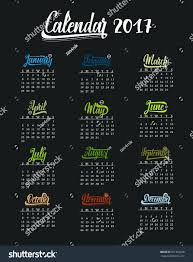 Trendy Resumes Free Download template Trendy Template Hand Drawn Lettering Of Months The Year 58
