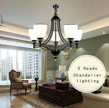 large living room chandeliers 5 arms iron glass chandelier hotel modern led chandeliers large living dining