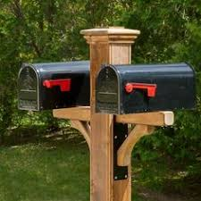 metal mailbox post designs. Plain Post The Newberry Cedar Mailbox Post Sleeve Come With Two Metal Brackets And  Your Choice Of Cap Intended Metal Mailbox Post Designs A