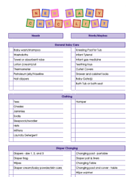 baby item checklist new baby checklist and what to include in your baby registry